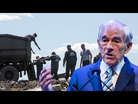 Ron Paul Blames US and EU for Malaysia Airlines Plane Crash