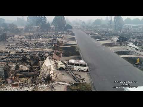 Postal Worker Still Delivers Mail to Santa Rosa Neighborhood Devastated by Wildfire