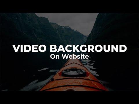 Cara Membuat Background Video Di HTML/CSS