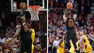Full Sequence: LeBron James BLOCKS Victor Oladipo and HITS GAME WINNER