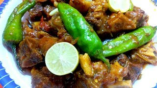 Spicy Beef Karahi Recipe - By Better Ways For Cooking.