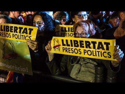 Spanish Judge Orders Arrests of Catalan Independence Leadership