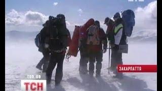 На Закарпатье в горах снова потерялись туристы