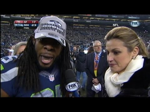 Super Bowl 2014: Richard Sherman Rant Sets Twitter Off