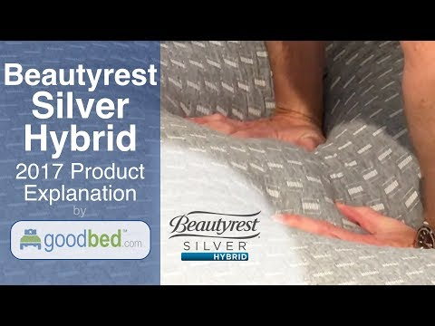 Beautyrest SILVER HYBRID Mattress Options Explained by GoodBed.com