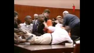 Самосуд в зале суда