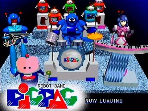 Robot Band PiCPAC (PS1) Namco Museum Vol. 4