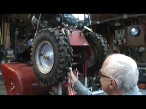 how to repair a snow blower that wont shift
