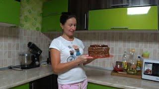Торт с кремом чиз из кефира Крем из замороженного кефира