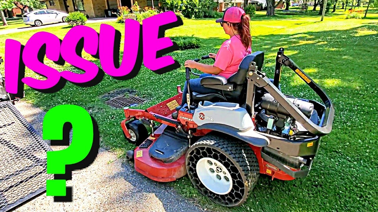 Lawn Mower Problem [ Is It Broke ? ] Or Is This Normal