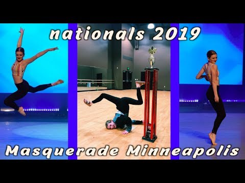Nationals Dance Competition Vlog! Masquerade Minneapolis