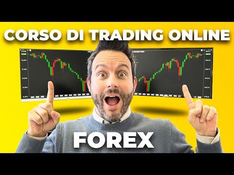 Corso di Trading Online (Forex) per chi comincia (corso di trading base per principianti / neofiti)