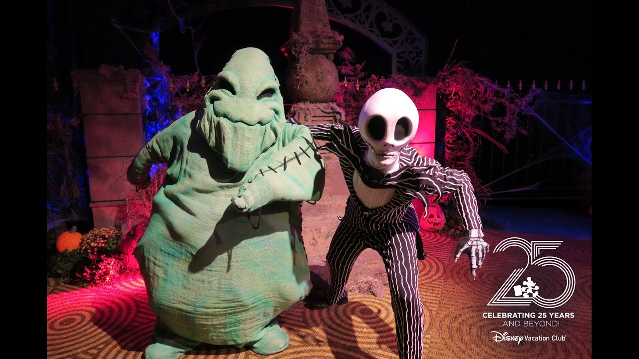 Oogie Boogie Halloween Party.Oogie Boogie And Jack Skellington Meet And Greet At The Dvc Halloween Party