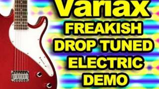 Devin Townsend Band Inspired Variax Digital Drop Tuning Electric Guitar Heavy Metal Storm Distortion