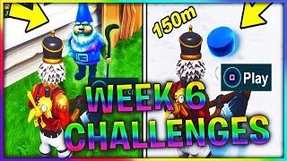 Fortnite WEEK 6 CHALLENGES Leaked! SEARCH CHILLY GNOMES LOCATIONS