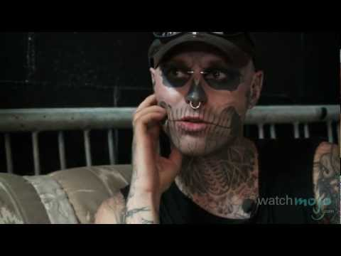 Exclusive Interview with Zombie Boy Rick Genest