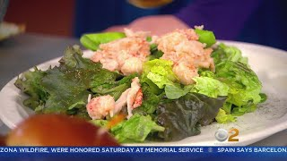 'The Sound Bite' Signature Salad With Lobster