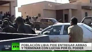 Tras meses de conflicto, Libia le dice 'adiós a las armas'