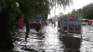 Ураган и потоп в Гомеле | 14.06.2015 | Последствия после сильного ливня и ветра.