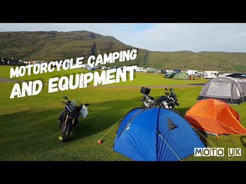Motorcycle Camping Equipment And Gear