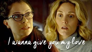 Cosima & Delphine | I wanna give you my love [+5x05]