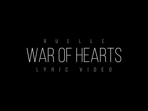 War of Hearts (Acoustic Version) - Ruelle (Lyric Video)