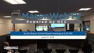 North Mason School Board June 21, 2018