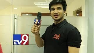 Arjun Suravaram promotions Hero Nikhil turns reporter for TV9 Telugu || Promo - TV9