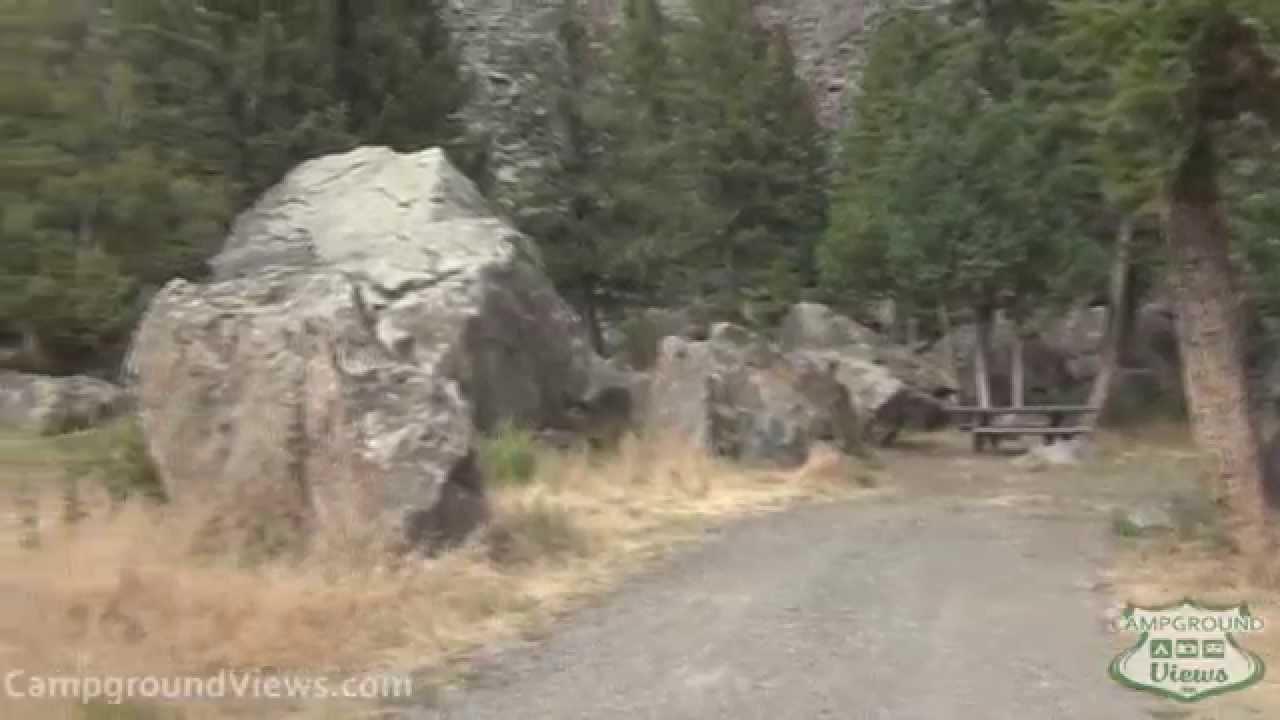 Campgroundviews Com Canyon Campground Gardiner Montana