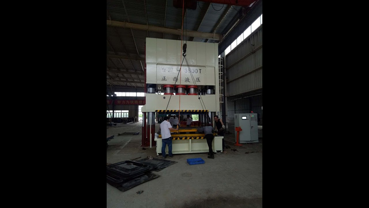 3500 Ton Servo Hydraulic Press Machine With Moving Bloster