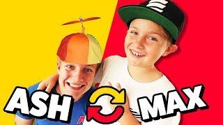 WENN ICH DU WÄRE - 1 Tag Rollentausch - Max vs Ash 😁 TipTapTube Family 👨👩👦👦