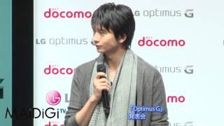 俳優の向井理さんが9月18日、東京都内で行われたNTTドコモの新スマート...