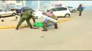 Manono brutaly bitten by police during cord demos