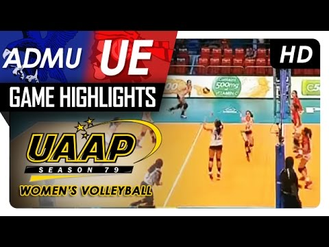 ADMU vs UE | Game Highlights | UAAP 79 WV | February 22, 2017
