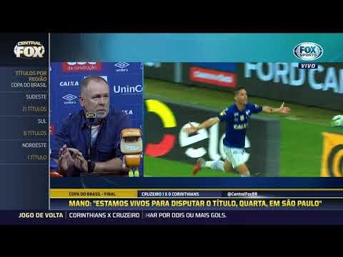 Confira a coletiva de Mano Menezes após vitória do Cruzeiro na final da Copa do Brasil