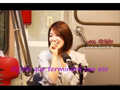 Park Shin Hye  I Will Forget You (Heartstrings) sub español - YouTube