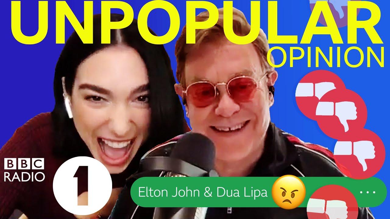 "Download ""Suck their Toes! 🤢"" Elton John & Dua Lipa Unpopular Opinion"