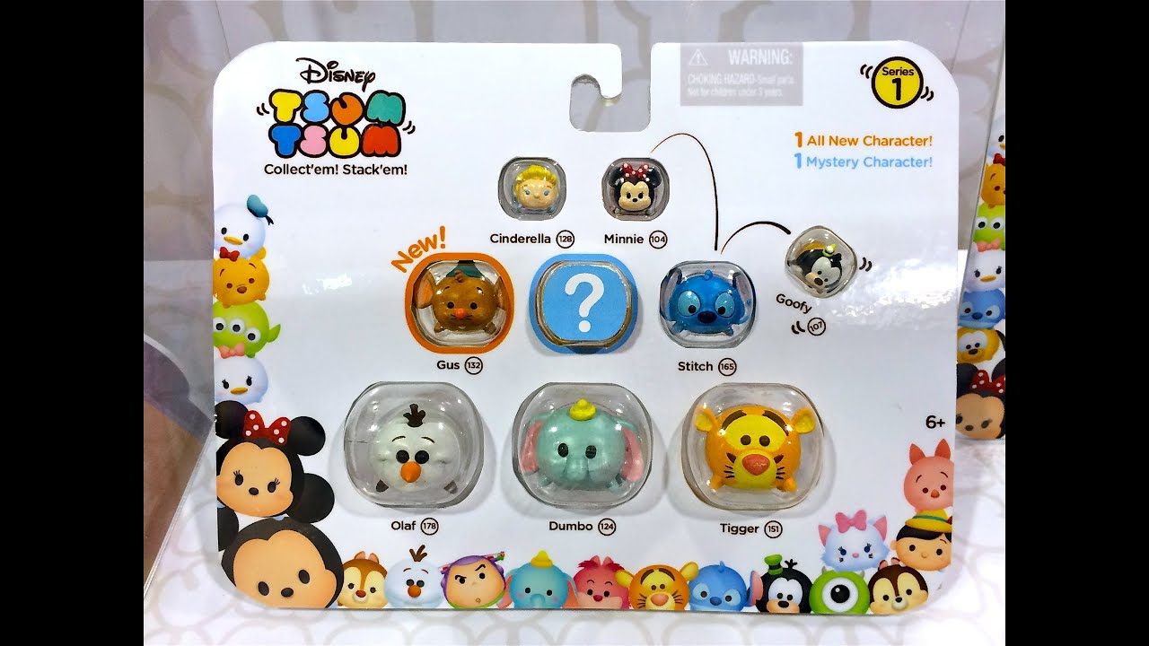 Disney Tsum Tsum Toys Series 1 Reveal At D23 Expo Youtube