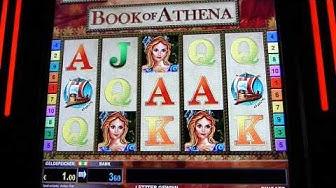 Automaten Strategie | Automaten Tricks Der Bücher Trick bei Book of Athena | iTsRonny | Dresden