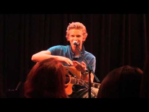 Cody Simpson private performance at the Bing Lounge in Portland!