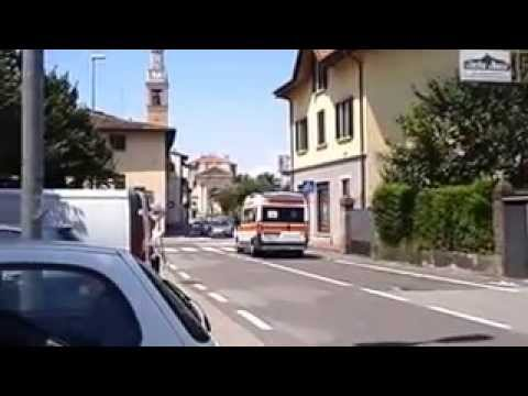|Ambulance in Emergency_Italy| Ambulanza a Malnate -VA-_2