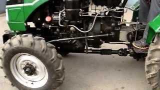 Первый выезд Мини трактор Китайского производства .(, 2014-10-08T08:36:27.000Z)