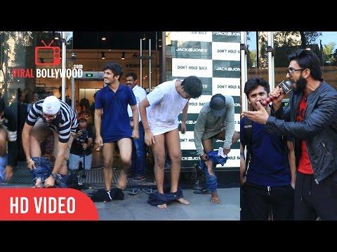 OMG Crazy Fans Of Ranveer Singh | Don't Hold Back. Dump | Jack & Jones |