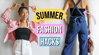 LOTS of Clothes But NOTHING TO WEAR?! Fashion Hacks
