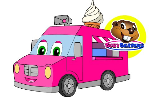 'Counting Ice Cream Trucks' | Teach Kids Counting, Numbers 123s, Toddler Learning Video, 1234