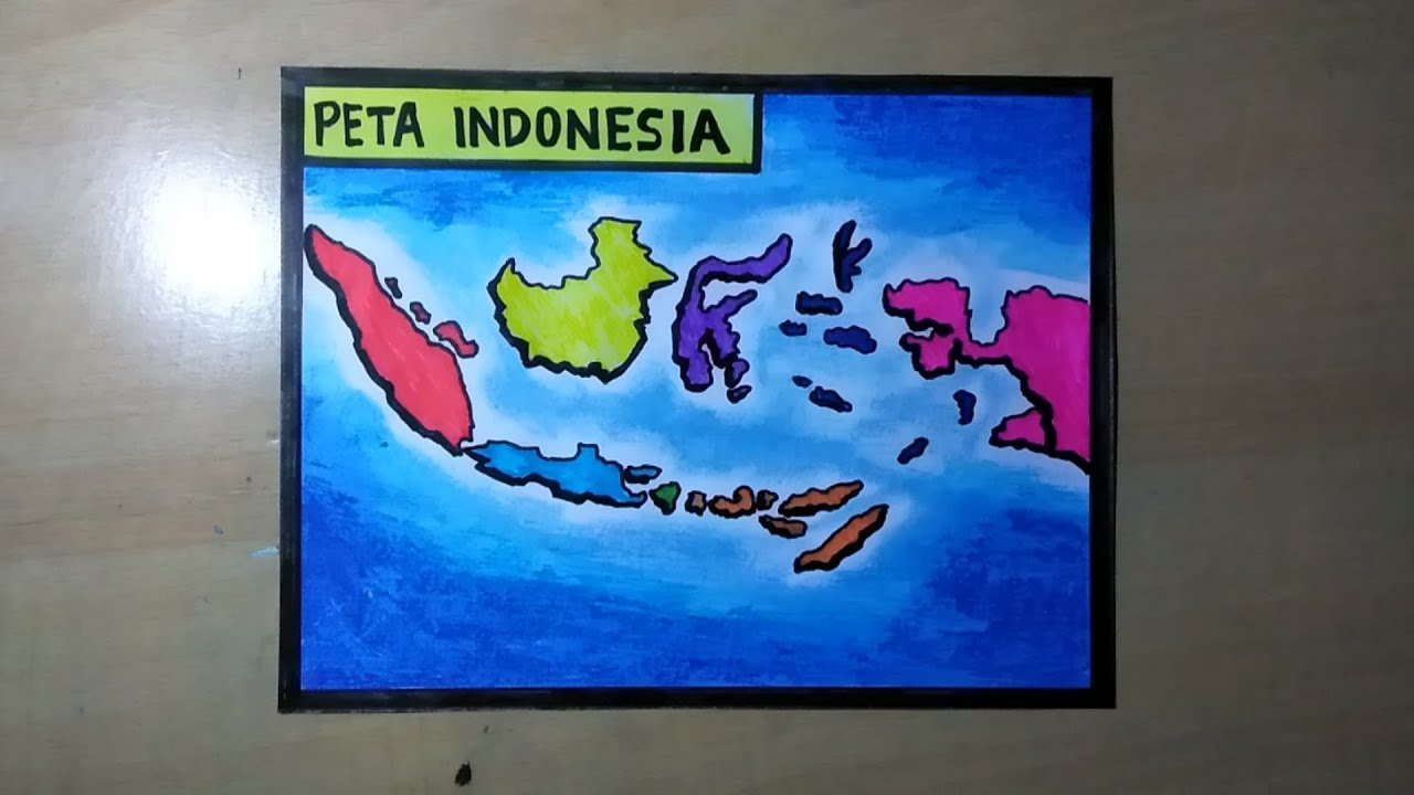 Cinta dapat diungkapkan dengan apa saja yang menuju sebuah kebaikan bersama. Cara Menggambar Peta Indonesia Lengkap Youtube