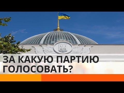 За какую партию проголосовать на парламентских выборах?