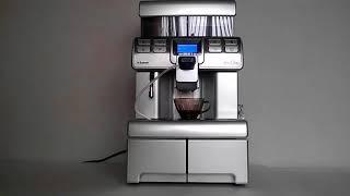видео Профессиональная кофемашина Saeco Aulika