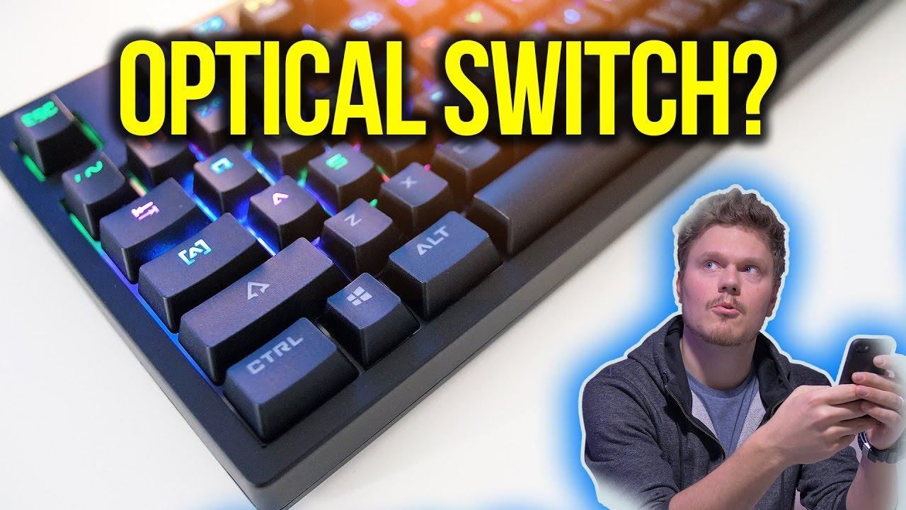 Wtf Are Optical Mechanical Keyboard Switches Youtube Simple Switch