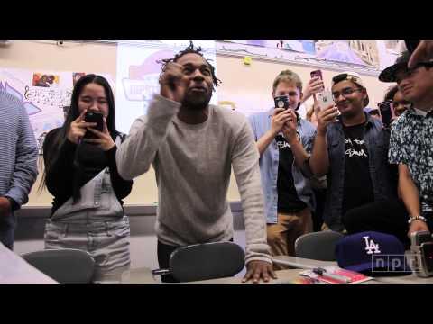 Kendrick Lamar Visits Mr. Mooney's Class